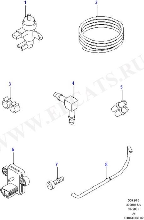 Emission Control - Vacuum Lines (Lynx Engine)