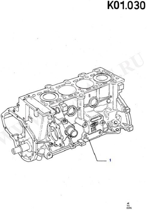 Cylinder - Short Block (Engine/Block And Internals)