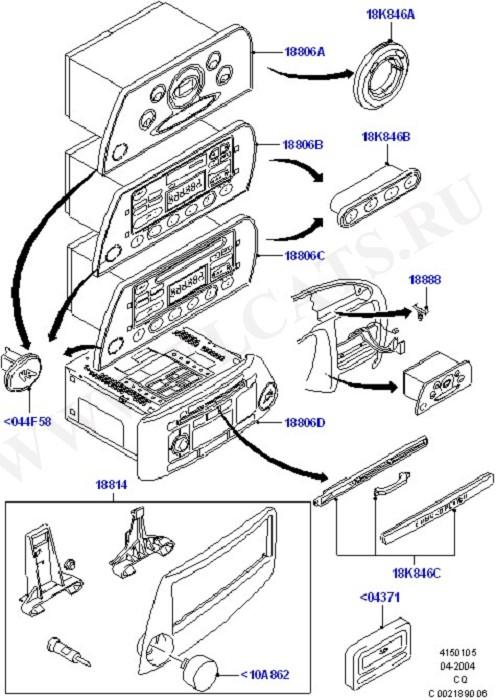 Audio Equipment - Original Fit (Audio/Entertainment Sys.Prod.Fit)