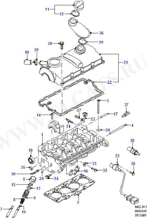 Cylinder Head & Cover (Cylinder Head/Valves/Manifolds/EGR)