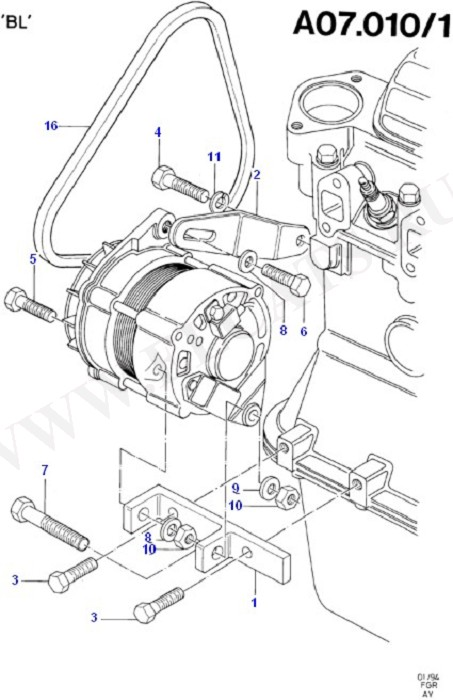 Alternator/Starter Motor & Ignition (OHV/HCS)