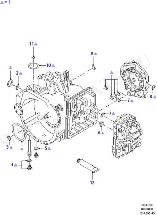 Automatic Transmission Gasket Kits (Automatic Transaxle)