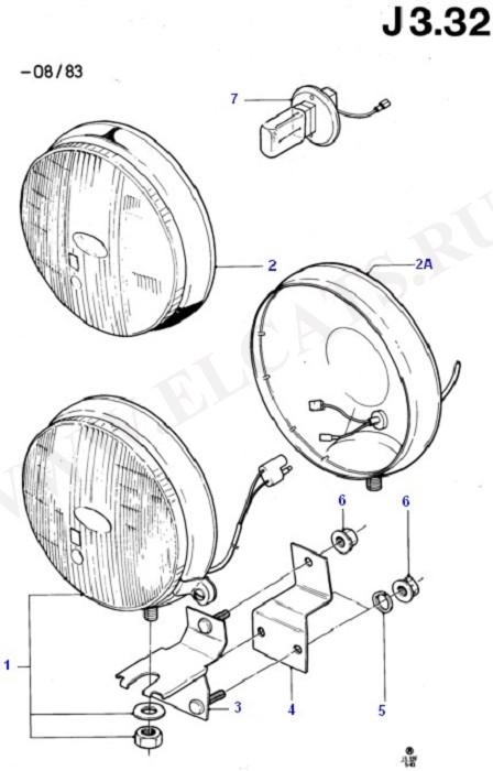 Additional Headlamps - Original Fit (Передние фары и поворотники)