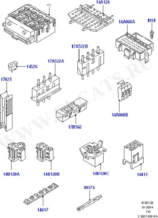 Fuses, Holders And Circuit Breakers (Wiring System & Related Parts)