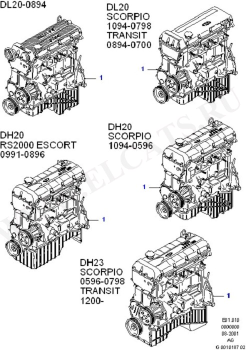 Engine/Block And Internals (DOHC(DL/DH))