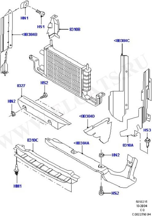 Air Deflectors (Front Body System)