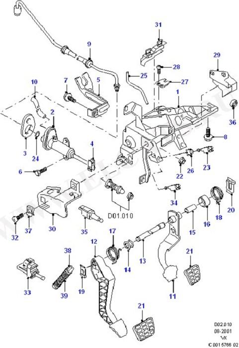 Brake And Clutch Controls (Brake And Clutch Controls)