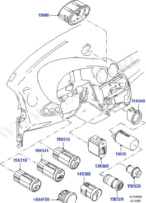 Instrument Panel Related Parts (Instrument Panel Related Parts)