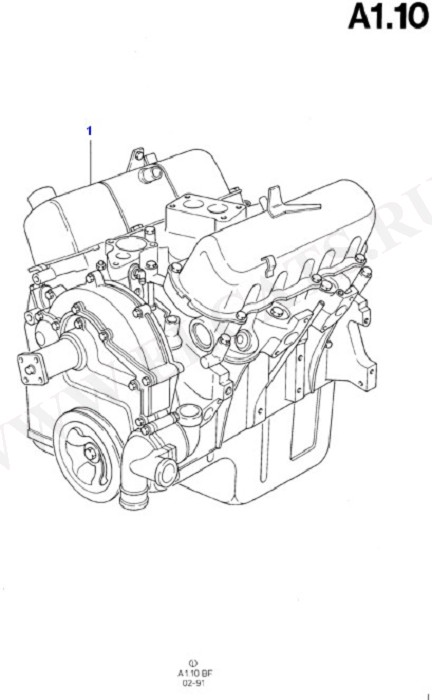 Engine/Block And Internals (Taunus V6 2.0, 2.3, 2.8)