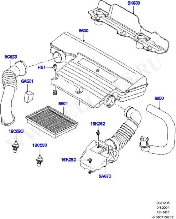 Engine Air Intake (Силовой агрегат)