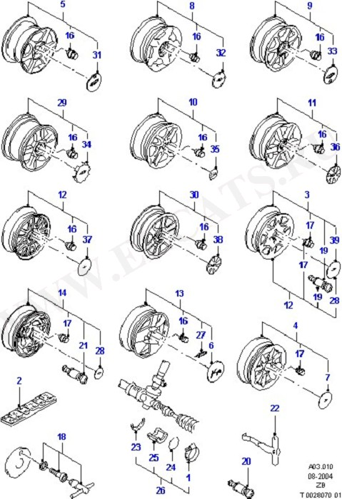 Suspension System And Wheels (Ka)