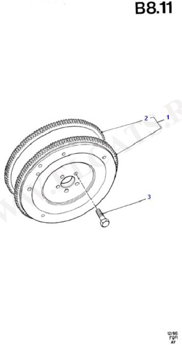 Clutch, Clutch Housing & Flywheel (CVH)