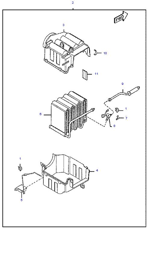 Вентилятор салона