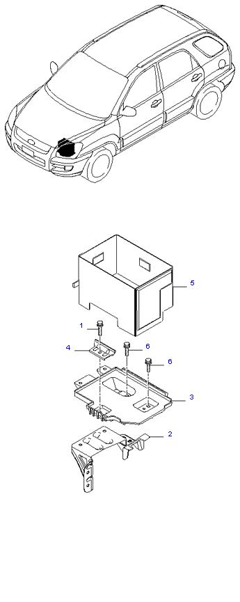 Аккумуляторная батарея ( 2.0L )