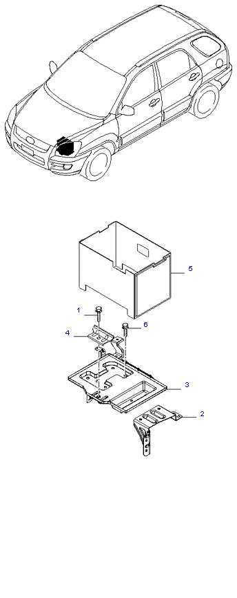 Аккумуляторная батарея ( 2.7L )