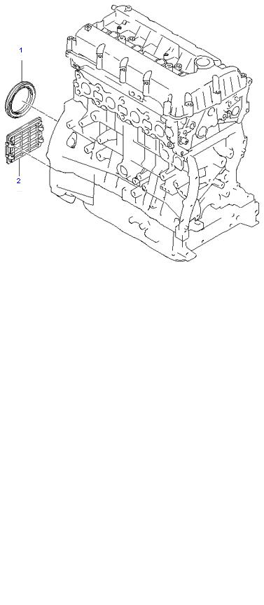 FRONT CASE ( 2.4L )
