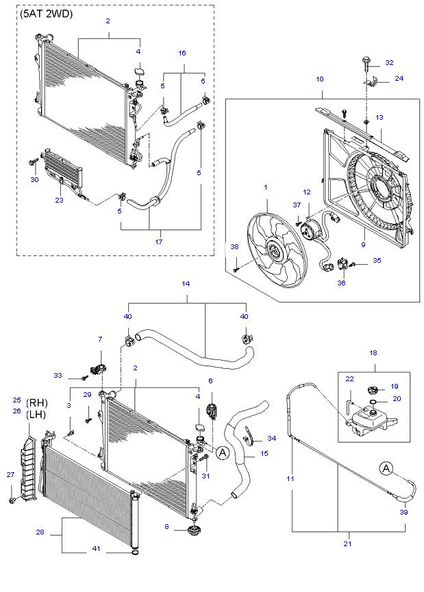 ENGINE COOLING SYSTEM ( 2.4L )