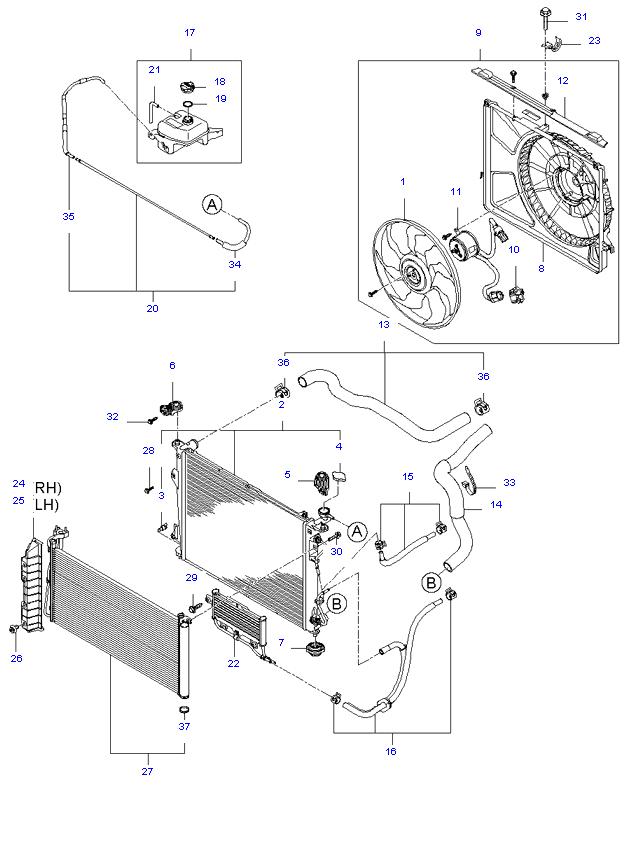 ENGINE COOLING SYSTEM ( 2.7L )