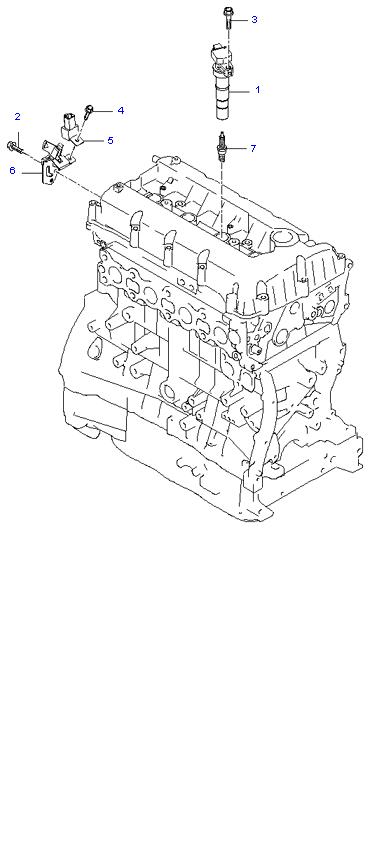 SPARK PLUG & CABLE ( 2.4L )