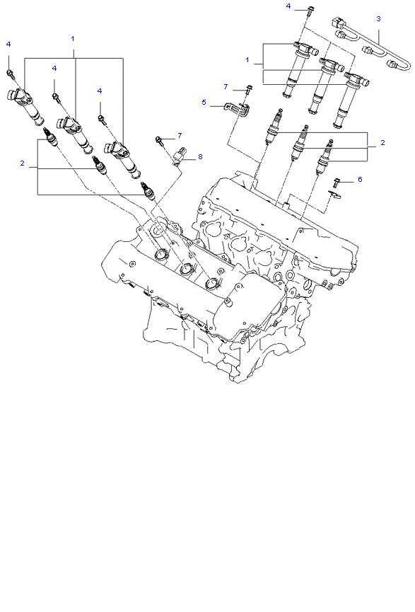 SPARK PLUG & CABLE ( 2.7L )