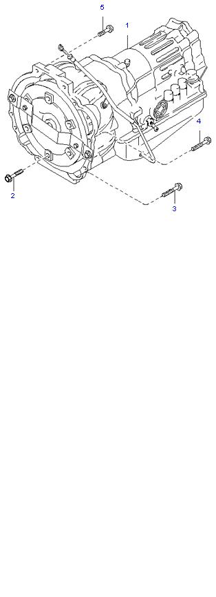 АКП ( 3.5L 4AT 4WD )