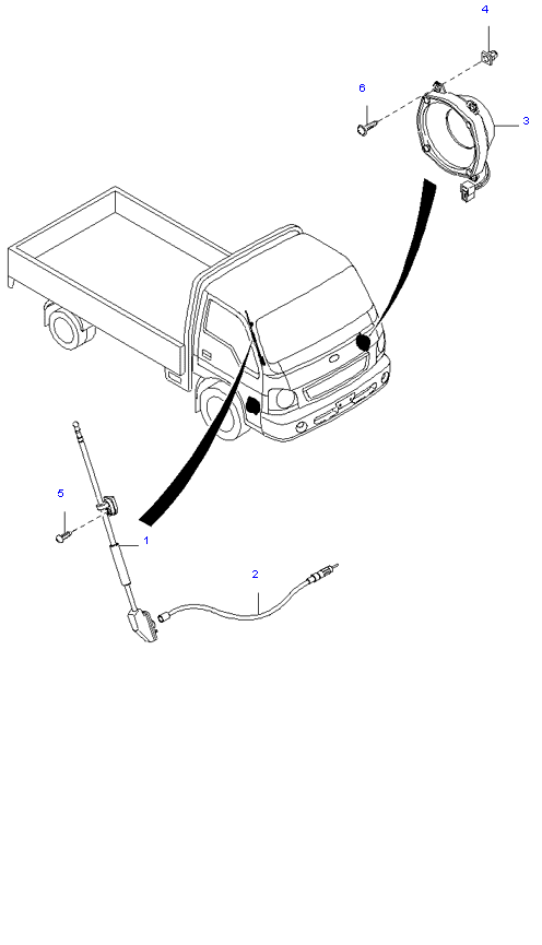 аудио система(антенна и колонки)