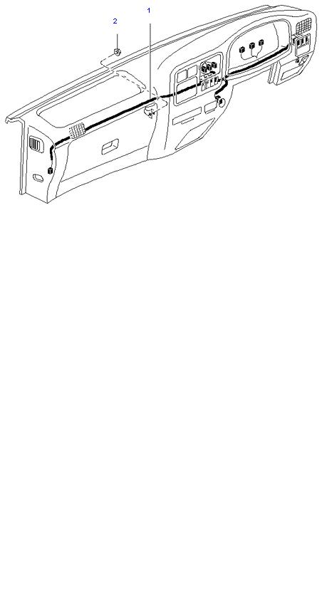 Жгут проводов(Приборной панели)