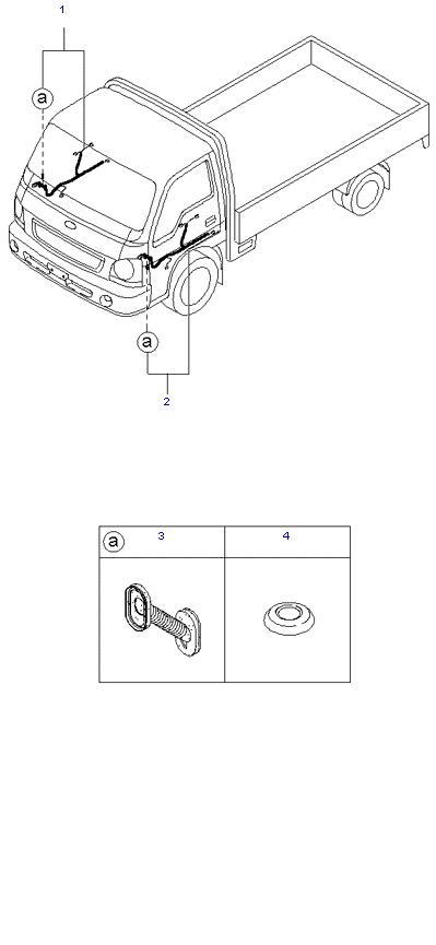 Жгут проводов(Двери)