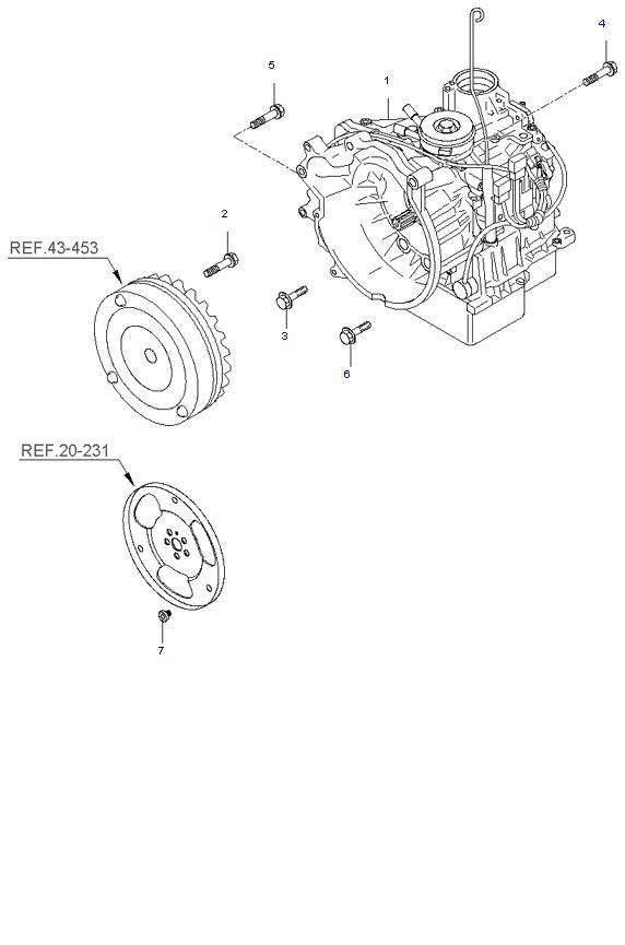 АКП ( 4AT 2WD )