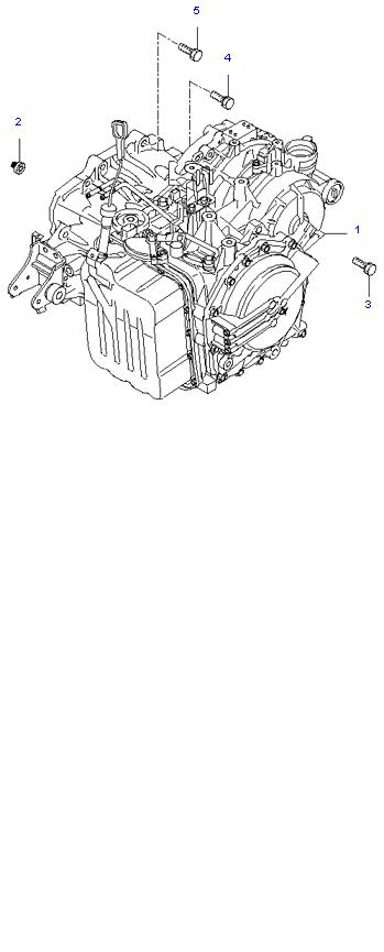 АКП ( 2.0L 4AT 2WD )