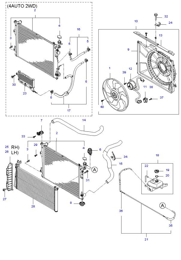 ENGINE COOLING SYSTEM ( 2.0L )