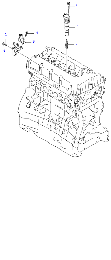 SPARK PLUG & CABLE ( 2.0L )