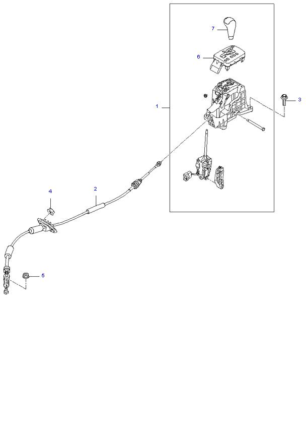 Ведомая шестерня привода спидометра ( 2.0L )