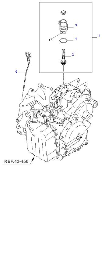 SPEEDOMETER DRIVEN GEAR(A/T) ( 2.0L )