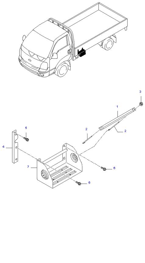 Аккумуляторная батарея ( D4BH )