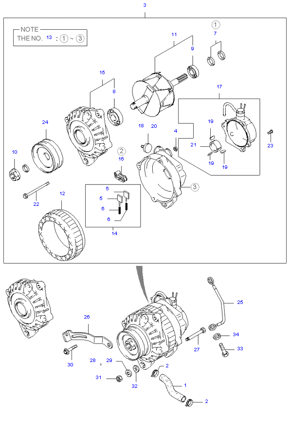 генератор ( D4BH )