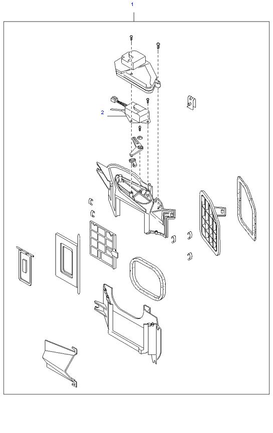 Впускной воздуховод ( D4BH )