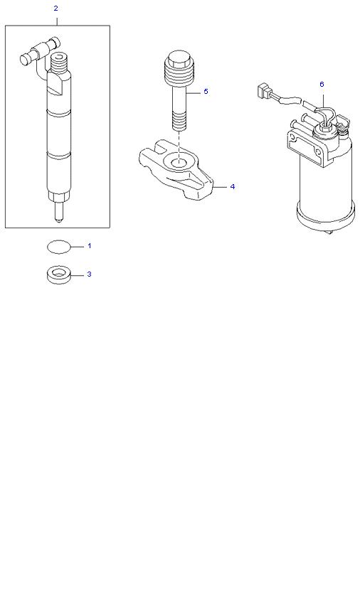 Держатель сопла и отстойник ( D4DB(135PS) )