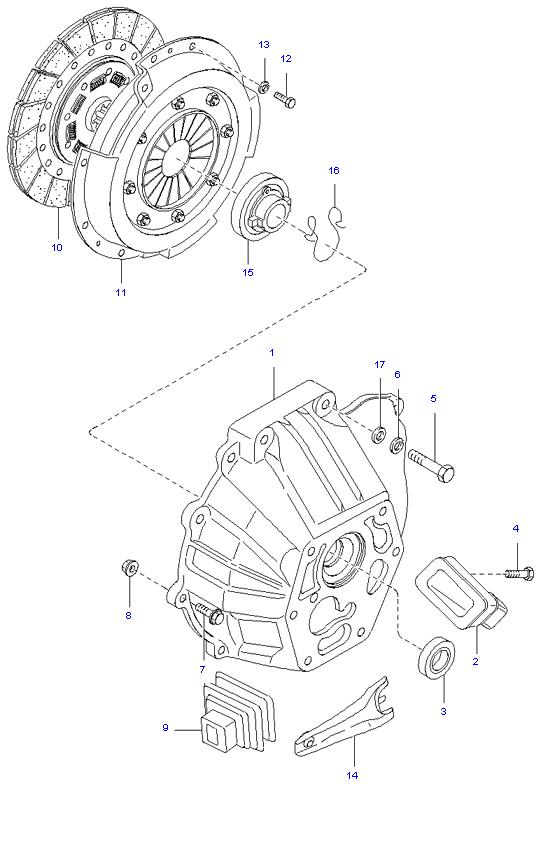 Ведомый диск и механизм сцепления (  )