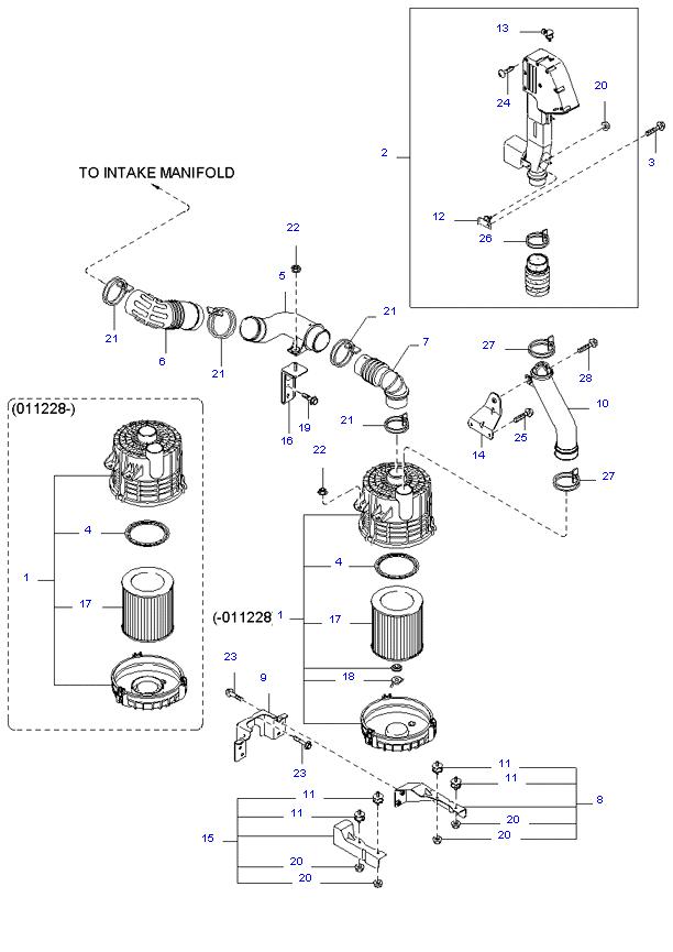воздушный фильтр ( SH )