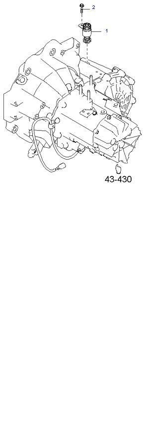 Ведомая шестерня привода спидометра ( 1.8L 5MT 2WD )