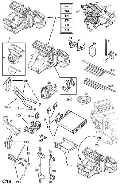 Кондиционер воздуха (Внутренние приспособления для кузова)