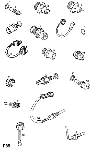 Двигатель и охлаждение (Электрика)