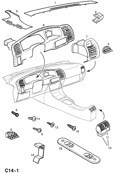 Обогреватель и вентиляция исключая кондиционер воздуха (Внутренние приспособления для кузова)