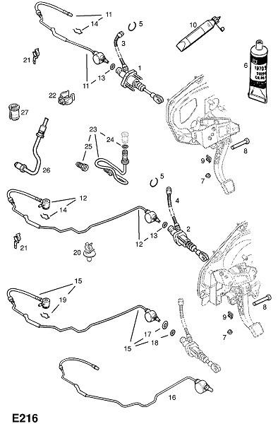 Y22dtr турбо-дизельный двигатель (Двигатель и сцепление)