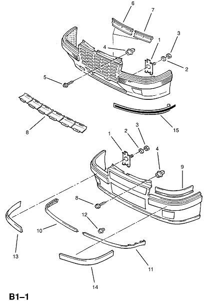 Бамперы (Внешние приспособления для кузова)