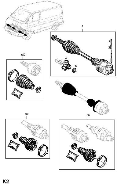 Передняя ось и подвеска (Передняя ось и подвеска)
