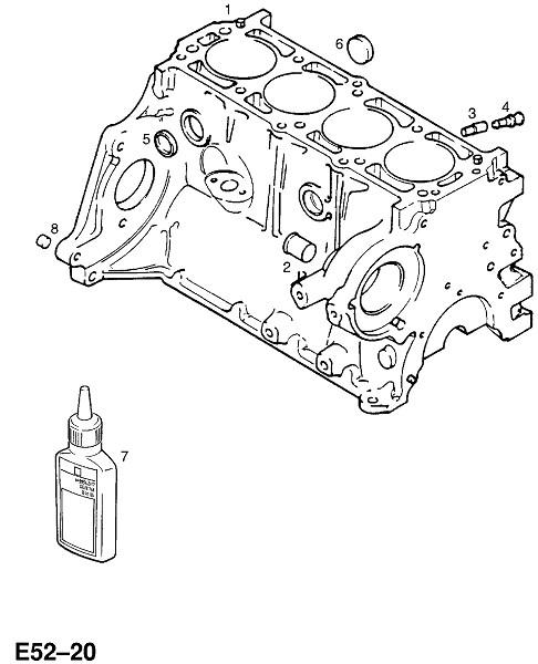 C16sel бензиновый двигатель (Двигатель и сцепление)
