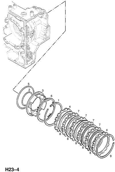 Автоматическая трансмиссия af13 (Трансмиссия)