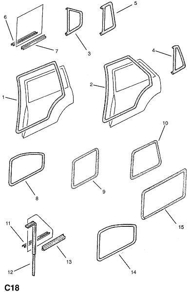 Нащельники (Внутренние приспособления для кузова)